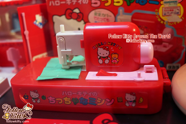 Windsor House Hello Kitty 40th Anniversary Exhibition - Sewing Machine