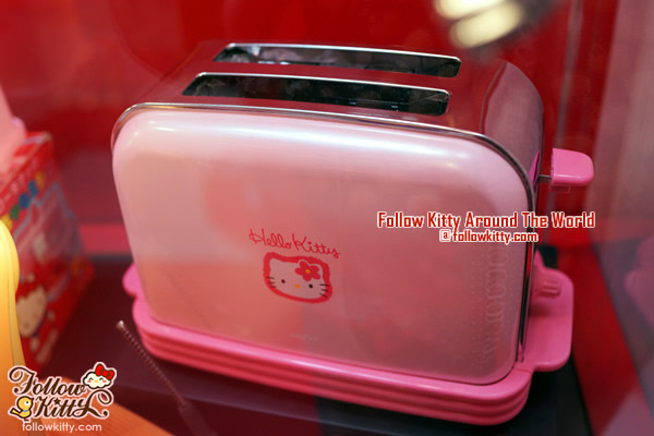 Windsor House Hello Kitty 40th Anniversary Exhibition - Toaster