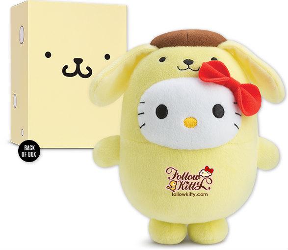 Singapore McDonald's Hello Kitty Bubbly World - Pom Pom Purin