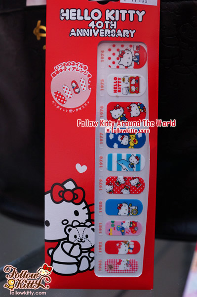 Hello Kitty 40th Anniversary - Nail Stickers