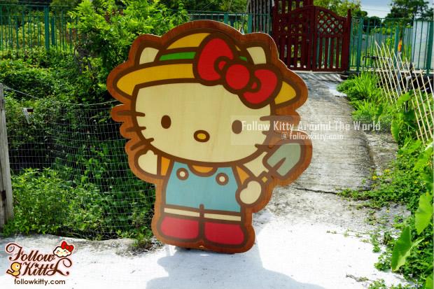 Hello Kitty有機薈低碳農莊裝飾