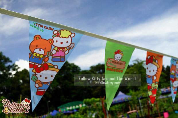 Hello Kitty彩旗飄飄
