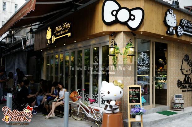 My First Visit @ Hello Kitty Secret Garden Café