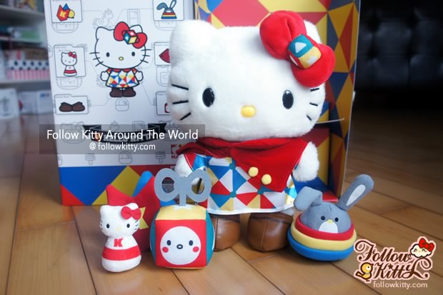 Hello Kitty Plush Toy Box Set