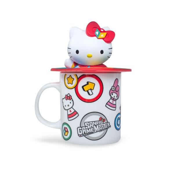 Hello Kitty Mug with 3D Lid
