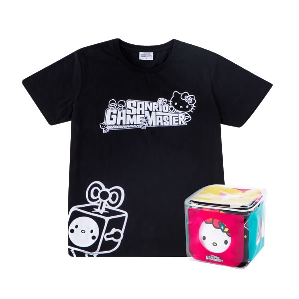 Hello Kitty Limited Edition Game Master Black Tee
