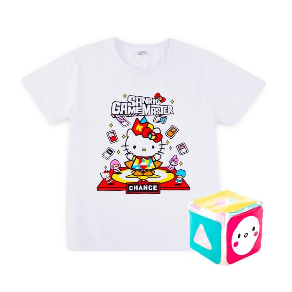Hello Kitty Limited Edition Game Master White Tee